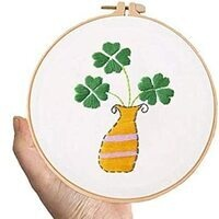 Embroidery (Four-leafed Clover)