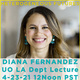 McKeown Lecture with Diana Fernandez, Heterogeneous Futures: Design Thinking Alternatives for Anthropologically and Ecologically Diverse Landscapes