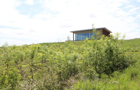 Visitor Center at Goose Pond Fish & Wildlife Area