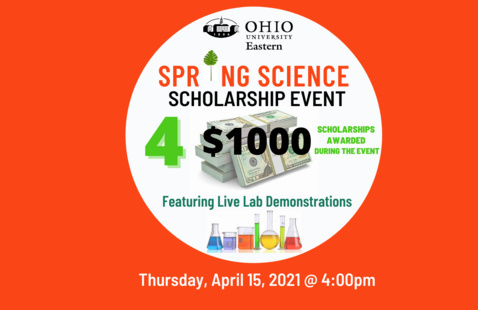 Spring Science Scholarship Event