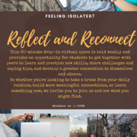 Reflect and Reconnect: Give Yourself a Little Honey | Counseling Center