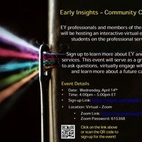 Ernst & Young Early Career Insights – NOVA Community College Event