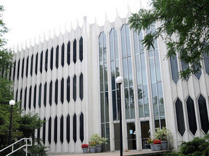 Bibbins Hall front entrance