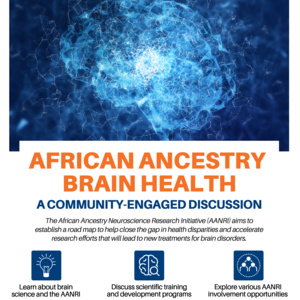 Virtual AANRI Symposium details for April 15, 2021.