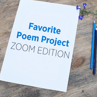 Favorite Poem Project Zoom edition