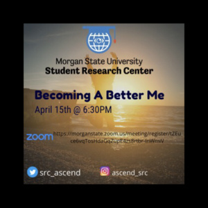SRC Presents: Becoming A Better Me