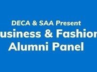 DECA & SAA Present: Business & Fashion Alumni Panel