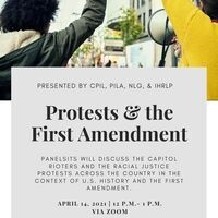 Protests and the First Amendment