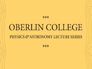 Physics and Astronomy Lecture Series