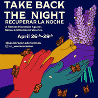 ALT-Text: a purple fist holding lavender, upheld by three colored hands and surrounded by butterflies and bees. With event information.