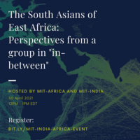"The South Asians of East Africa: Perspectives from a group in ""in-between"""