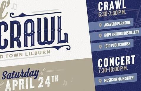 Lilburn crawl poster