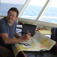Carlos Duarte on boat