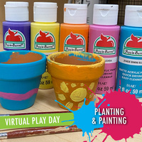 CAPS Play Day: Planting & Potting