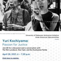 Fighting for All: Legacy of Yuri Kochiyama: April 28@6pm