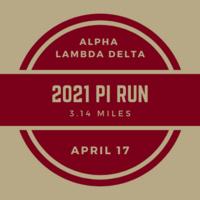 2021 Pi Run - Hosted by Alpha Lambda Delta
