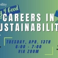 Working 4 Good: Careers in Sustainability