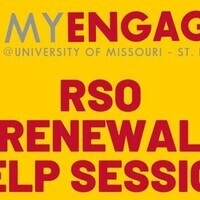 RSO Renewal Help Session #3 (Cancelled)