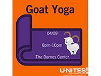 U-NITES! Goat Yoga