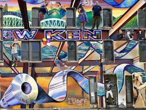 The New Kensington Mural design