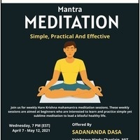 Weekly Mantra Meditation Sessions | Wed | 7 pm