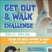 Get out and walk challenge