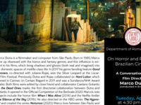 """""""On Horror and Politics in Brazilian Cinema: A conversation with film director Marco Dutra"""""""