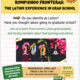 Event poster for Rompiendo fronteras: The Latinx Experience in Grad School