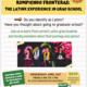 Event poster for Rompiendo fronteras: The Latinx Experience in Grad School