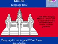 Khmer Language Table