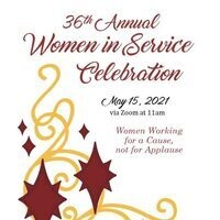 "Zonta Club of SCV's ""36th Annual Women In Service Celebration"" invitation"