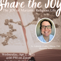 Share the JOY: The JOY of Marianist Religious Life
