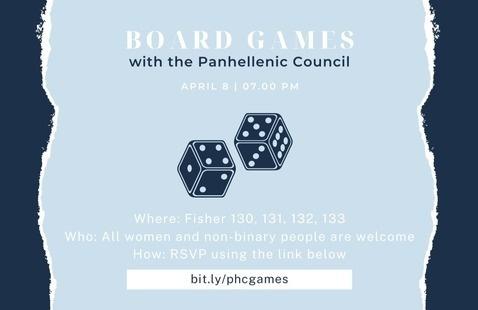 Board Games Sorority Social