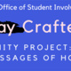 Saturday Crafternoon: Spring Messages of Hope