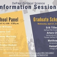 Political Science Information Sessions