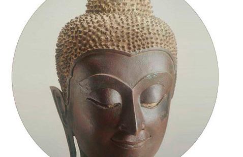 Head of a Buddha, 1350-1757, Ayudhya Period (1350-1757 CE)