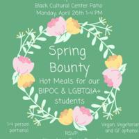 Spring bounty