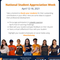 National Student Appreciation Week