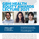 GBHI Health Equity Awards Lecture Flyer