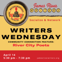 WRITERS WEDNESDAY April 2021 – Socialize & Network