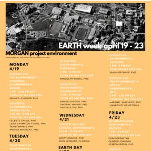 Morgan Earth Week: Elevating Environmental Research