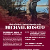 Chain of Parks Art Festival Presenting Artist: Michael Rosato