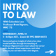 Intro to Law with Columbia Law Professor Brett Dignam '72