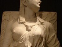 The Death of Cleopatra sculpture