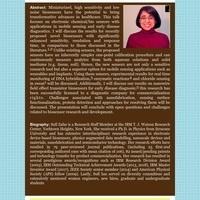 Bioengineering Seminar Series:  Sufi Zafar