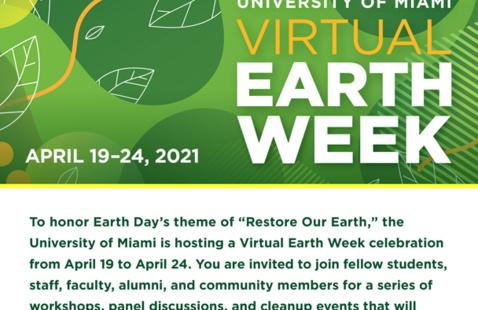 Virtual Earth Week Celebration 2021