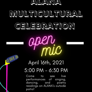 Open Mic Night ALANA Multicultural Celebration