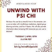 Unwind with Psi Chi