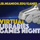 Virtual Library Games Night