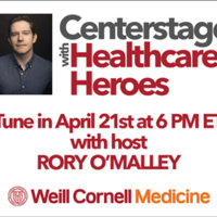 Centerstage with Healthcare Heroes logo